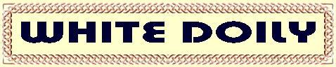 ホワイトドイリー/カントリー家具・雑貨